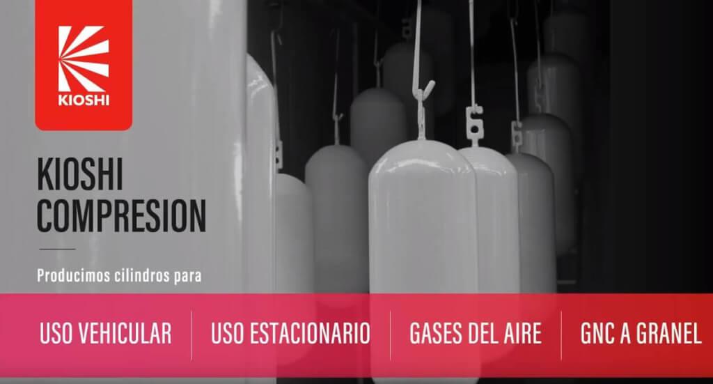 Kioshi te muestra como se fabrican los cilindros de GNC Tipo 1 en la Fabrica más moderna de latinoamerica