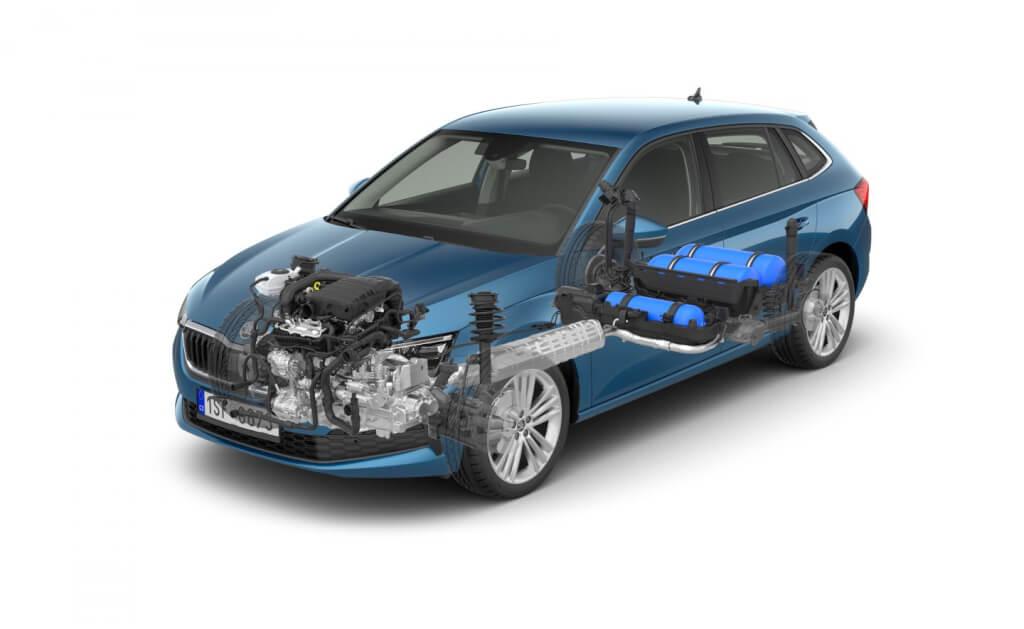 Respetuoso con el medio ambiente, asequible y disponible hoy en día: motores de GNC en los modelos ŠKODA G-TEC