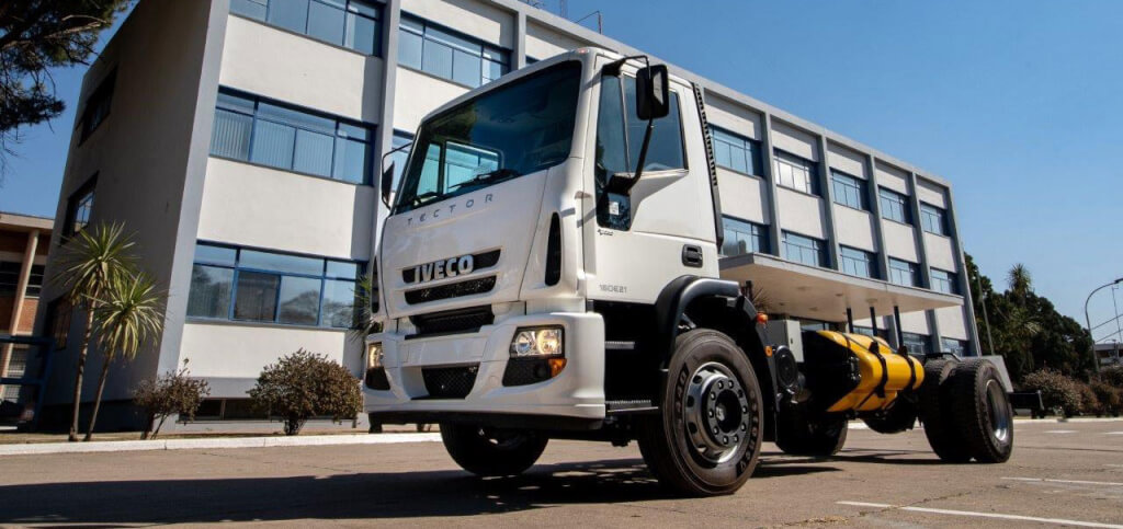 Iveco Tector a GNC made in Argentina