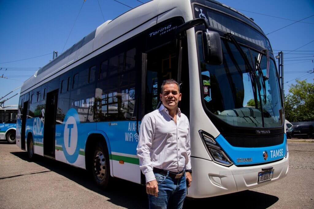 Colectivo a GNC exhibe resultados exitosos en la ciudad de Córdoba