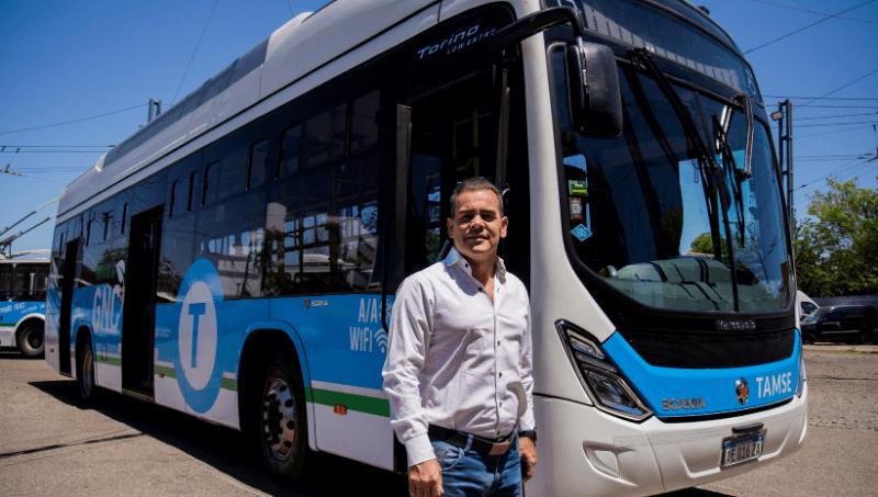 Prueba superada: tras 2 meses de recorrido, el «bondi» Scania a GNC está listo para suplantar la flota diésel (¿se animará Tamse?)
