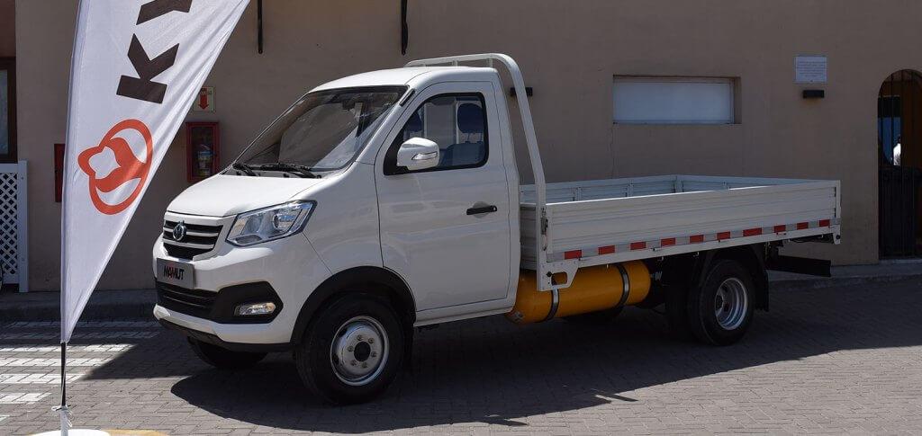 Utilitarios a gas: Famly destaca las ventajas del KYC Mamut con equipo de GNC y garantía de fábrica